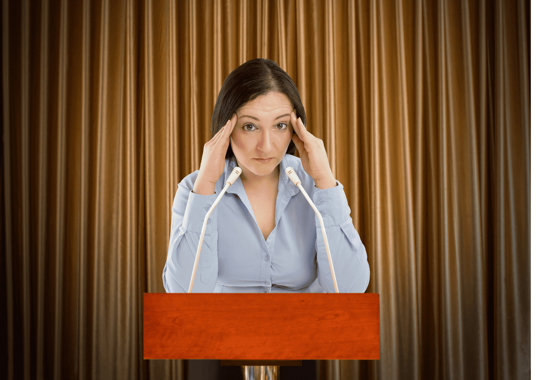 performance anxiety public speaking
