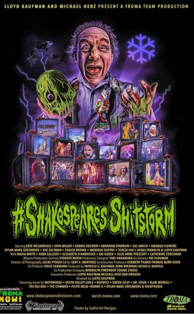 Lloyd Kaufman Interview – #ShakespearesShitstorm, Troma, The Toxic Avenger