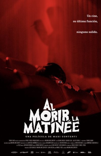 Maximiliano Contenti Interview – Red Screening (AKA Al Morir La Matinee)