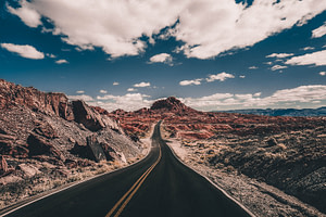 road trip view