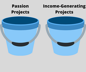passion project bucket