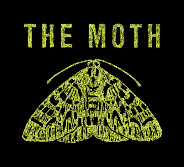 the moth podcast logo