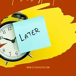 How to successfully overcome procrastination