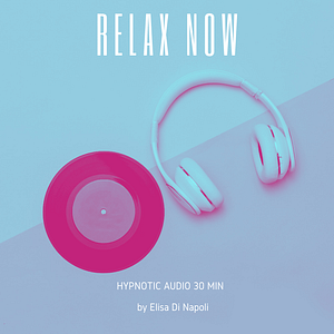 Relax now hypnosis mp3 cd cover